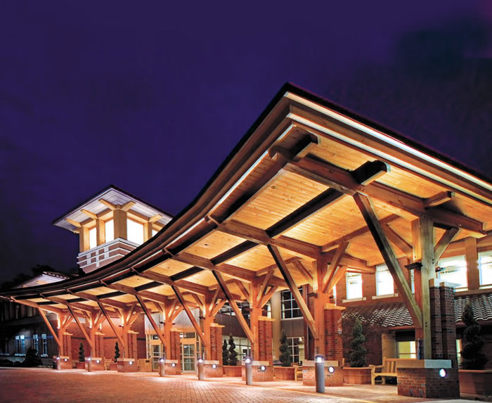Timber Framing Construction Options For Commercial Exteriors